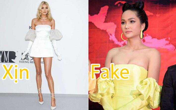 Hóa ra bộ cánh khiến HHen Niê nhấp nhổm không yên trên truyền hình chỉ là hàng nhái của siêu mẫu Elsa Hosk - Ảnh 7.