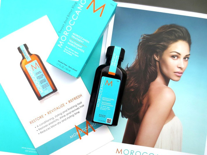 Moroccan Oil Treatment Alcohol Free For All Types of Hair Review