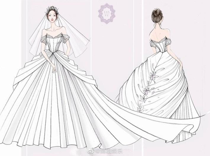Rò rỉ ảnh váy cưới trong Full House bản Trung Quốc: được khen ăn đứt váy của Song Hye Kyo khi xưa - Ảnh 6.