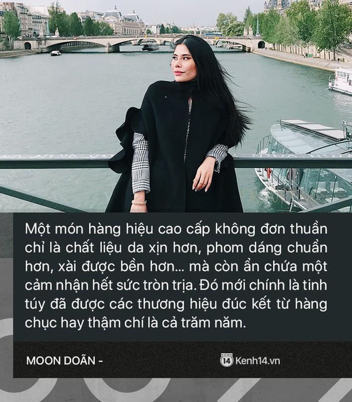Moon Doãn - Nữ nhân chuyên bóc phốt hàng hiệu tâm sự: Mình bị dọa nhiều lắm, có cô còn mò đến nhà vào lúc 1 giờ sáng - Ảnh 3.