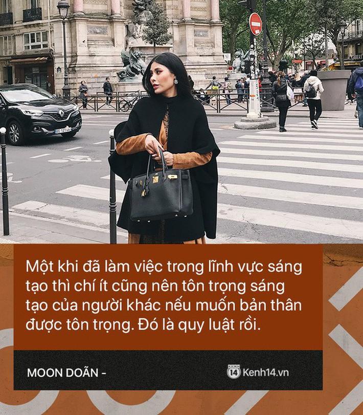 Moon Doãn - Nữ nhân chuyên bóc phốt hàng hiệu tâm sự: Mình bị dọa nhiều lắm, có cô còn mò đến nhà vào lúc 1 giờ sáng - Ảnh 6.