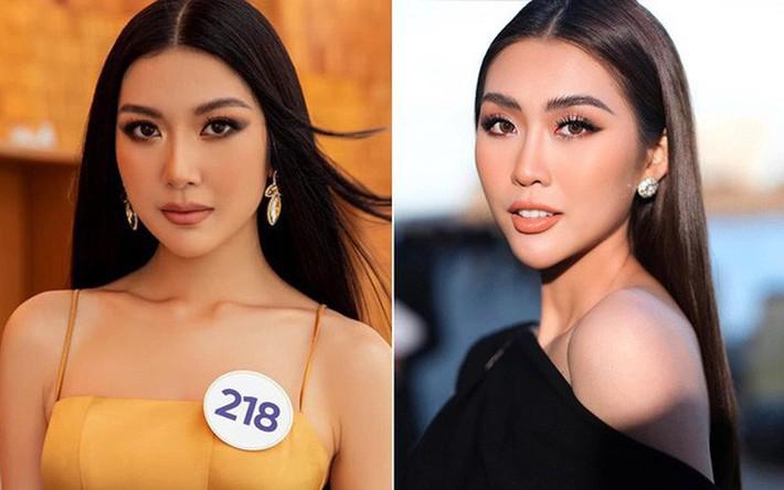Tô son điểm phấn theo đúng kiểu Miss Universe, Thúy Vân bỗng dưng thành chị em sinh đôi với một Hoa khôi đàn em - Ảnh 5.