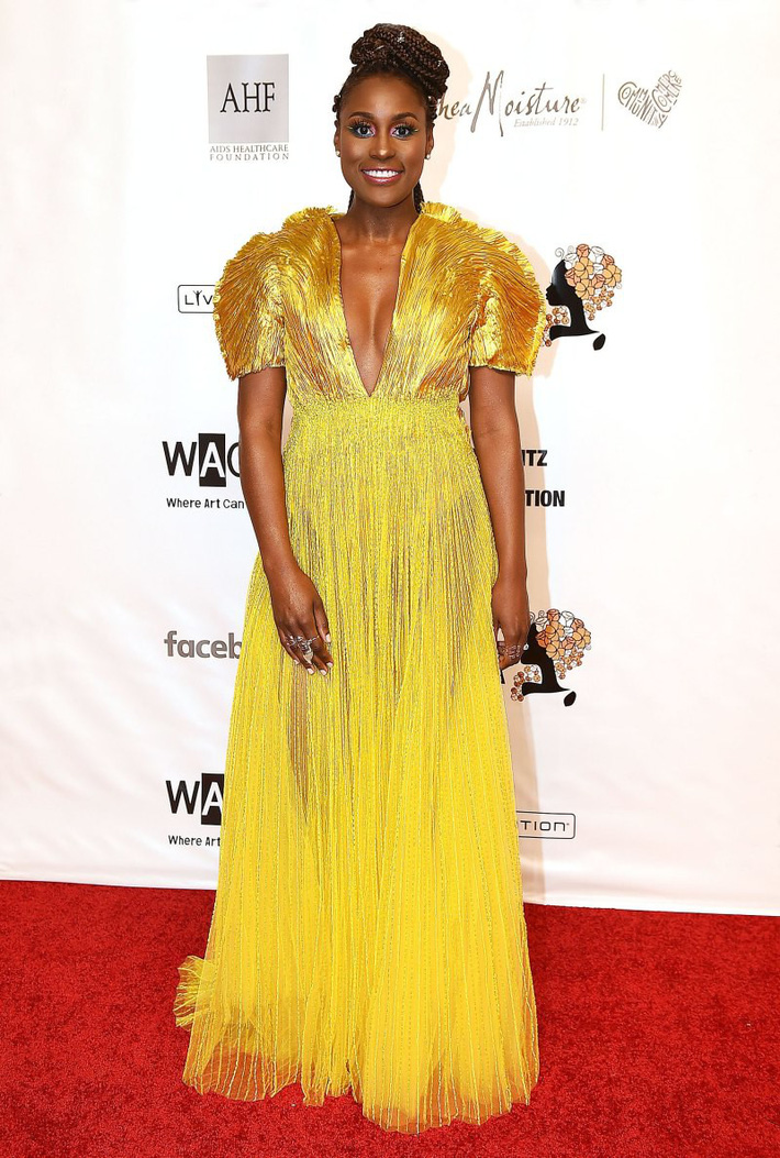 Celebs-Wearing-Cong-Tri-Issa-Rae