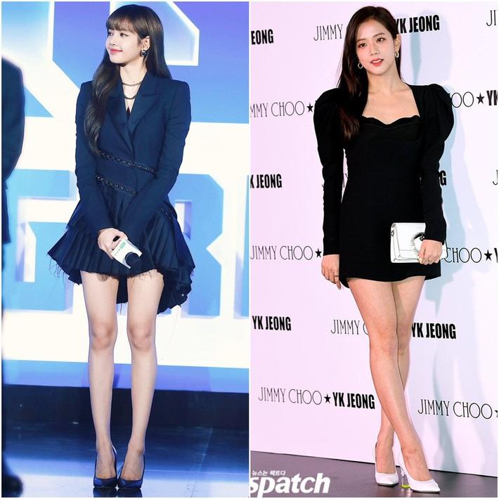 Đẳng cấp của Jisoo – Lisa khi cùng diện váy ngắn khoe chân thon: Người thống trị Weibo, người phá đảo Twitter - Ảnh 2.