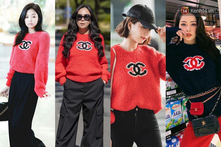 """Jennie chính là """"thánh tạo trend"""" của 2019: Sao Việt và hot girl châu Á copy rần rần, các shop may bắt chước đồ y chang - Ảnh 5."""