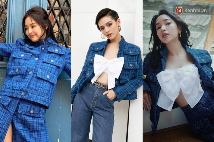 """Jennie chính là """"thánh tạo trend"""" của 2019: Sao Việt và hot girl châu Á copy rần rần, các shop may bắt chước đồ y chang - Ảnh 3."""