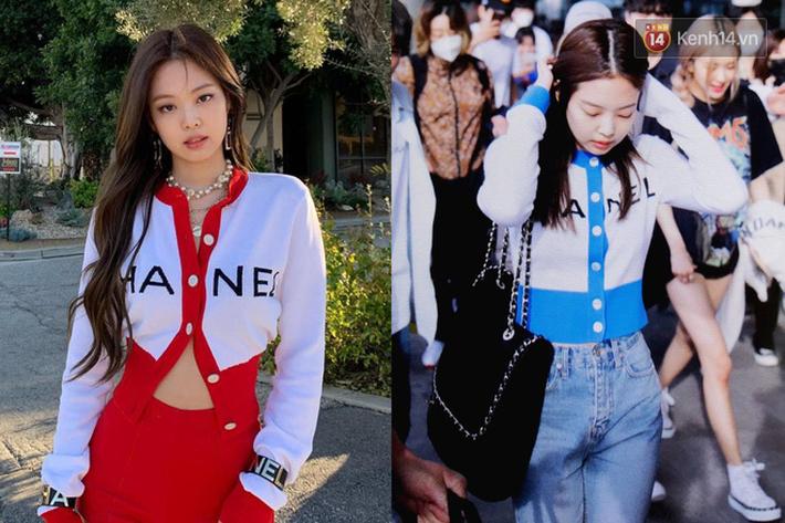 """Jennie chính là """"thánh tạo trend"""" của 2019: Sao Việt và hot girl châu Á copy rần rần, các shop may bắt chước đồ y chang - Ảnh 13."""