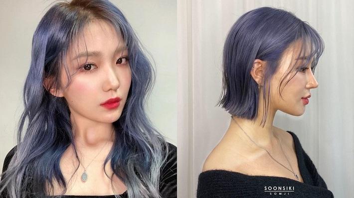 Có ít nhất 4 tông xanh khác nhau cho bạn chọn, nếu muốn thử đu trend tóc xanh như idol Hàn Quốc - Ảnh 3.
