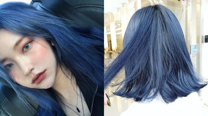 Có ít nhất 4 tông xanh khác nhau cho bạn chọn, nếu muốn thử đu trend tóc xanh như idol Hàn Quốc - Ảnh 2.
