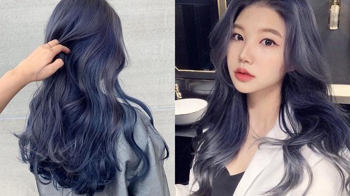 Có ít nhất 4 tông xanh khác nhau cho bạn chọn, nếu muốn thử đu trend tóc xanh như idol Hàn Quốc - Ảnh 4.