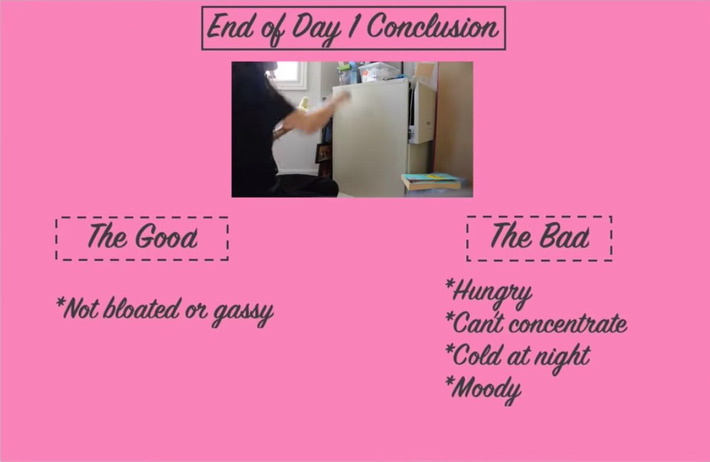 Học theo chế độ ăn kiêng với chuối giống Jeon Somi, nữ vlogger người Canada giảm được 3,6kg trong 3 ngày - Ảnh 9.