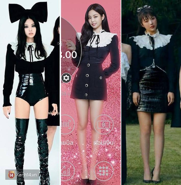 Đụng từ chiếc áo đến cách mix đồ: Jennie khi cool ngầu, khi dễ thương đến Joy (Red Velvet) lại đậm chất ma mị - Ảnh 6.