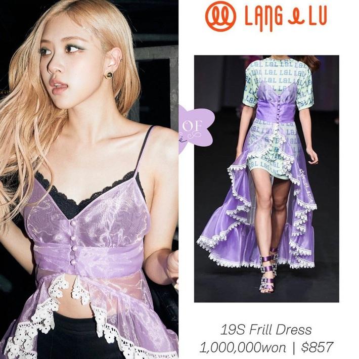 Ngang trái nào bằng khi stylist chăm cắt váy để Rosé sexy hơn nhưng lại khâu váy cho Jisoo kín cổng cao tường - Ảnh 1.
