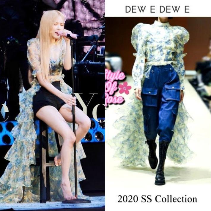 Ngang trái nào bằng khi stylist chăm cắt váy để Rosé sexy hơn nhưng lại khâu váy cho Jisoo kín cổng cao tường - Ảnh 2.