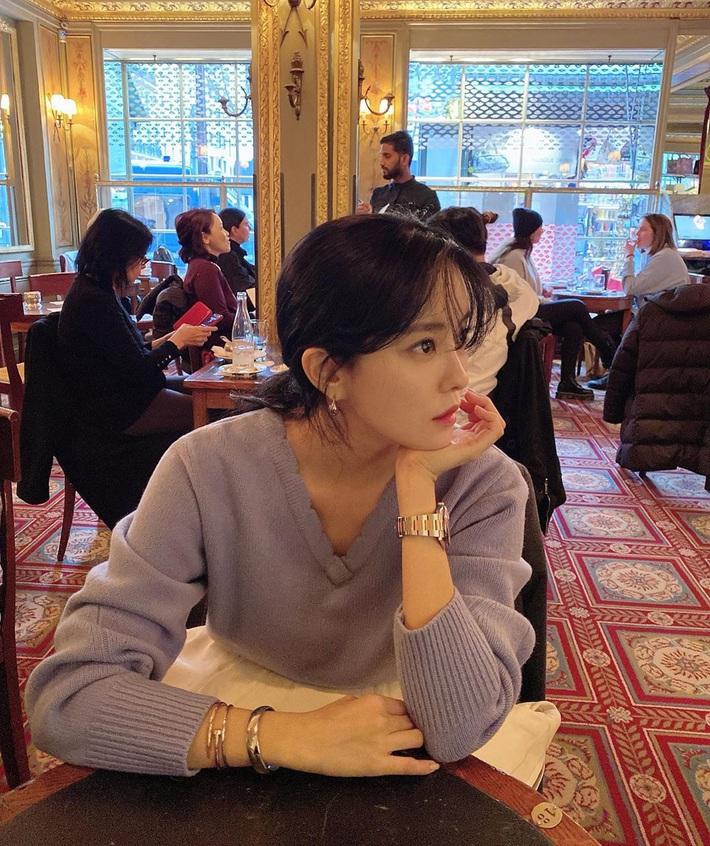 Loạt mỹ nhân châu Á trở về với tóc đen: Tưởng lúa nào ngờ ai cũng sang hơn gấp bội, riêng Lisa đẹp ma mị đến mức lên top trending - Ảnh 7.