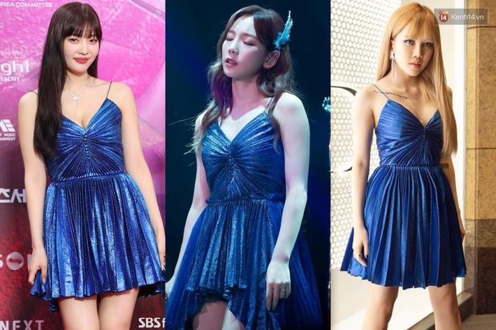 Xem màn đụng váy 80 triệu giữa Joy, Taeyeon và Thiều Bảo Trâm mà chỉ thấy phục lăn tài chế đồ của stylist nhà SM - Ảnh 10.