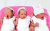 Mang thai ba tự nhiên, sản phụ Cần Thơ sinh con lần đầu được luôn 2 gái, 1 trai