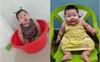 Cô bé 9 tháng tuổi nặng 18kg, chân tay đầy ngấn, ai trông thấy cũng phải trầm trồ không ngừng
