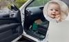 Bà mẹ lên tiếng cảnh báo khi con trai 7 tháng tuổi vô tình bị nhốt trong xe ô tô vì hệ thống khóa thông minh của xe