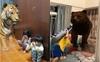 Trò chơi mới cho trẻ mùa dịch: Ở nhà con vẫn chơi đùa được với cả vườn thú