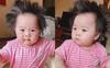 Bé 7 tháng tuổi gây ấn tượng vì mái tóc tốt um, dựng đứng như bờm sư tử, ra đường ai cũng phải khen