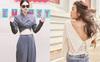 Kiểu áo váy khoét lưng gợi cảm na ná áo Jennie đang cực hot ở các shop mà giá lại chỉ vài ba trăm, chị em còn chờ gì mà không tậu