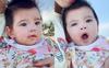 Mới đó mà con út của Jennifer Phạm đã tròn 6 tháng, mẹ khoe ảnh cận mặt khiến ai nấy xuýt xoa: