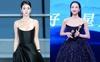 """Tống Thiến đụng kiểu váy với Seo Ye Ji, chẳng cần """"chơi chiêu"""" nhưng vẫn lộng lẫy hơn điên nữ xứ Hàn"""