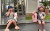 Cô nhóc 4 tuổi là con lai Việt - Hàn, phối đồ 'chất phát ngất', tạo dáng chuyên nghiệp khiến dân mạng tròn mắt