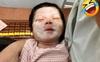 Nhờ chồng bế con để đi hút sữa, lát sau quay vào mẹ trẻ nhìn mặt em bé mà