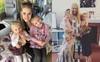 """Cặp đôi song sinh """"đẹp như tranh vẽ"""" truyền cảm hứng giúp mẹ đứng dậy sau khi bị cắt cụt chân vì ung thư"""