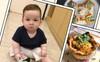 Khám phá phương pháp ăn dặm BLW cực hot cùng bé Danny mới 12 tháng tuổi đã ăn được