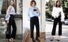 3 biến tấu thú vị để thiết kế quần âu đen cơ bản không còn cứng nhắc khi đi làm