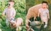 Cho con đi chụp ảnh sinh nhật hoành tráng, bố mẹ nhận về loạt ảnh cậu bé chăn cừu bên