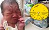 Lúc sinh ra nhăn nheo xấu xí nhưng chỉ 1 tháng sau, em bé