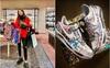 Kỳ Duyên sắm đôi sneakers hoa cúc chục triệu: Mừng rớt nước mắt nhưng chỉ mong nó