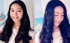 """Cô con gái lớn xinh như Hoa hậu của MC Quyền Linh gây trầm trồ khi tự cắt tóc và uốn xoăn đẹp """"chuẩn salon"""""""