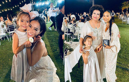 """Bé gái xinh đẹp nổi bật khi chụp ảnh cùng vô số sao Việt trong đám cưới Đông Nhi - Ông Cao Thắng hóa ra thân thế cũng """"không vừa đâu"""""""