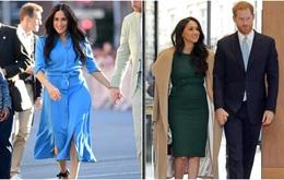 """Meghan Markle """"vượt mặt"""" chị dâu Kate trong cuộc chiến mặc đẹp năm 2019 do Vogue Anh bình chọn"""