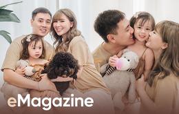 """Bí mật giờ mới """"bật mí"""" sau 5 năm kết hôn của Kiên Hoàng - Loan Hoàng: Từng sống thử nửa năm, còn cưới là do… thầy bói bảo"""