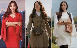 12 set đồ của Son Ye Jin trong Crash Landing On You từ chanh xả đến điệu đà mà bạn có thể áp dụng cho Tết này