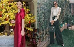 Street style ngày mùng 1 của sao Việt: Đông Nhi đi lại giày cưới 30 triệu, Hương Giang diện đồ lạc hẳn với mọi người