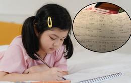 Cô bé 5 tuổi lên hẳn thời khóa biểu khi được nghỉ phòng dịch, nhìn vào ai cũng sửng sốt vì chỉn chu như học sinh cấp 2
