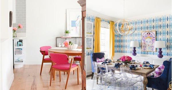 Gợi ý thiết kế phòng ăn đẹp lãng mạn khiến bạn nhìn là yêu