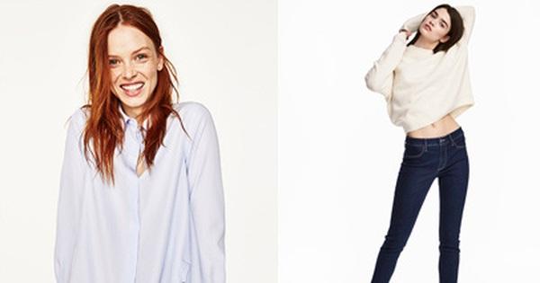 Với 500 ngàn, bạn có thể sắm được những đồ gì ở Zara, H&M cho mùa Thu/Đông tới