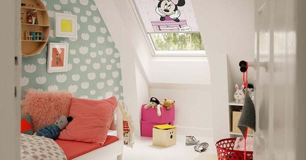 Những mẫu giấy dán tường không thể đáng yêu hơn cho phòng ngủ của bé