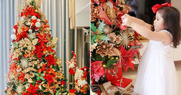 Căn hộ được trang trí Noel đẹp lung linh, món quà của người mẹ tặng con gái ở Q7, Sài Gòn