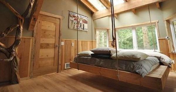 Muốn thư giãn cuối tuần tại nhà vào ngày đông lạnh lẽo, hãy thử ngay những mẫu giường treo siêu yêu này