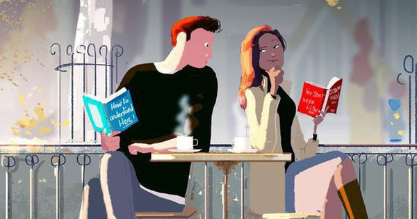 Bộ tranh: Tình đến – tình đi và sự khác biệt một trời một vực giữa cách hành xử của phụ nữ và đàn ông