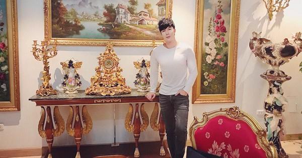 Chiêm ngưỡng ngôi nhà dát vàng triệu đô của nam ca sĩ Nathan Lee ở Hà Nội